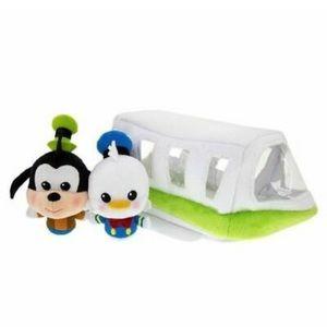 Disney Parks Monorail Plushie Set